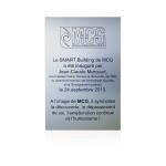 MCG - Louvain La Neuve - plaque inauguration