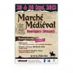 Tourisme Dinant - affiche marché médiéval