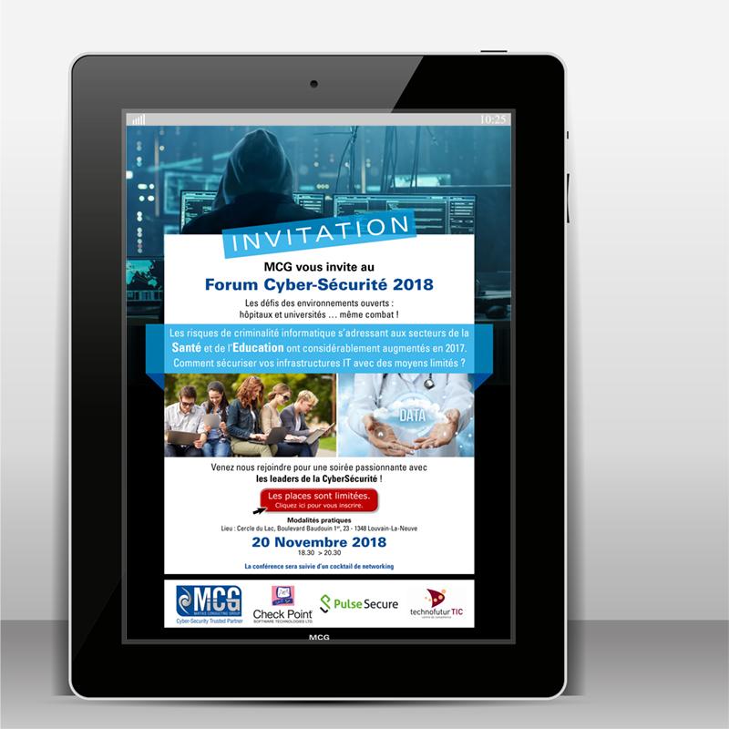 Tablette E-mailing