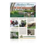 Gardens Horses - Annonce presse