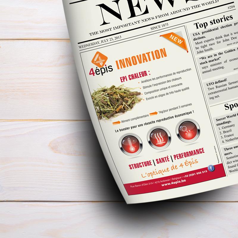 Publicité journal